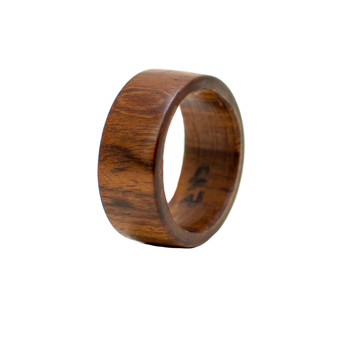 Solid tambotie ring wooden rings handcrafted wooden for Design your own wooden ring