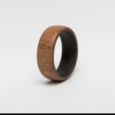 Wooden Rings with Teak Wood